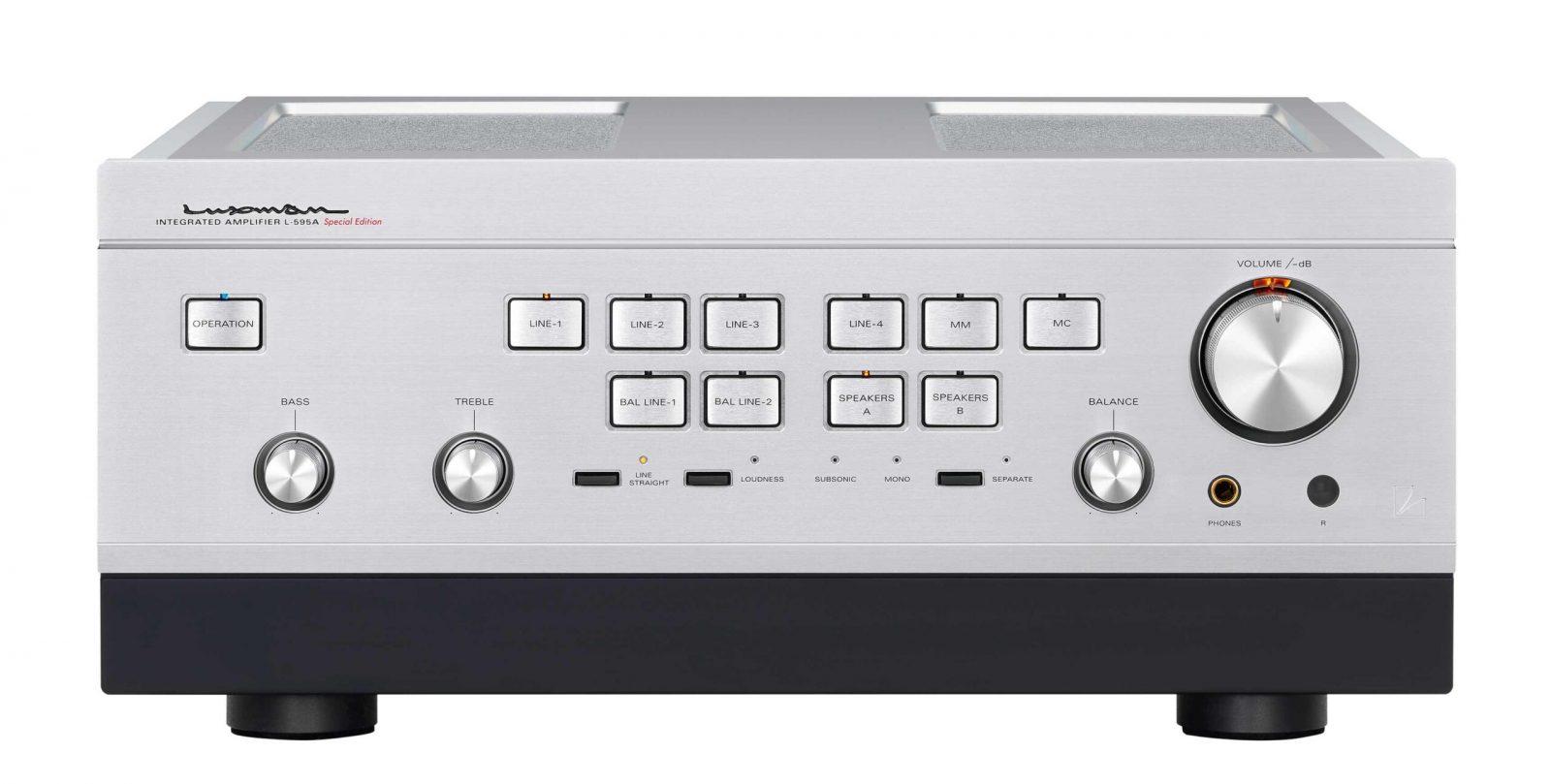 Luxman amplifier L595A Special Edition